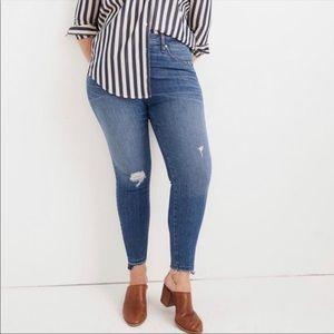Madewell Tall Curvy High-Rise Skinny Jeans 35
